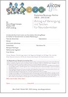 Antragsformular-Neurodermitistextilien